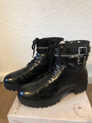 Park Lane Chunky Punk Boots 40