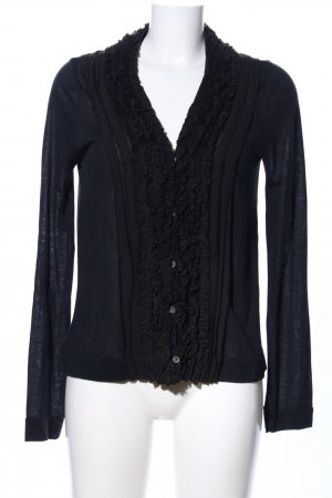 park vogel Cardigan schwarz Business-Look