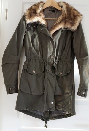United Colors of Benetton Parka olive green