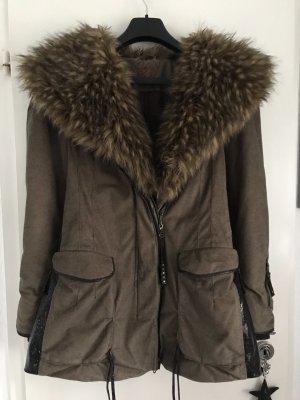 Sportalm Short Coat dark brown