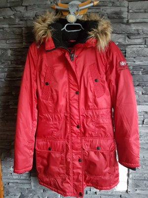 Authentic Clothing Company Parka rosso scuro