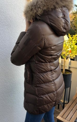 Bomboogie Down Coat brown-light brown