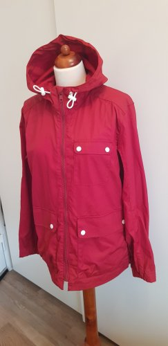 H&M Waxed Jacket red