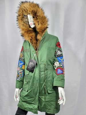 Miss & Furs Giacca di pelliccia verde
