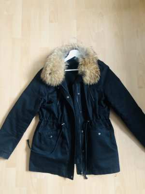 Attentif Parka black