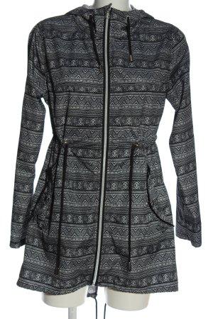 Parka in a Pocket Parka gris claro-negro elegante