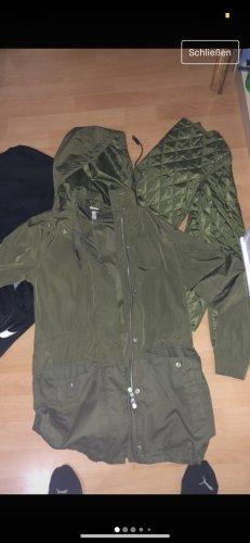 Adidas NEO Chaqueta larga verde oscuro