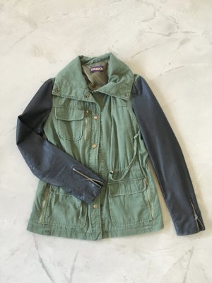 Reverso Military Jacket black-forest green