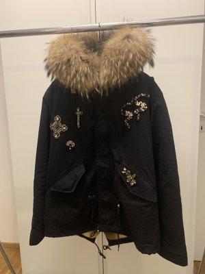 Parka Miss&Furs mit Echtfell Besatz