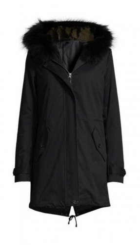 Lawrence Grey Parka nero