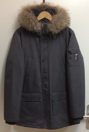 Bomboogie Down Jacket dark grey-anthracite nylon