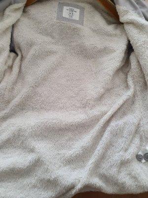 H&M L.O.G.G. Parka gris clair tissu mixte