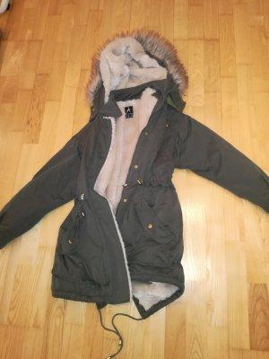 Hooded Coat khaki
