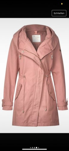 Street One Parka rose-rose clair