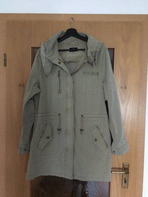 C&A Płaszcz przejściowy zielono-szary