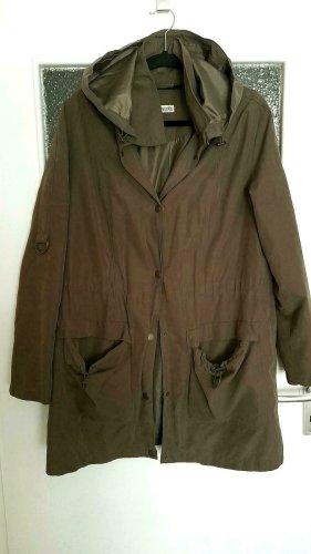 Boysen's Manteau à capuche vert foncé tissu mixte