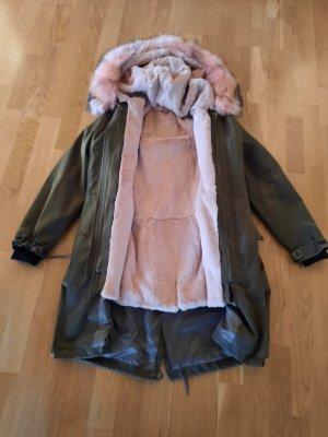 CKN of Scandinavia Pelt Jacket khaki
