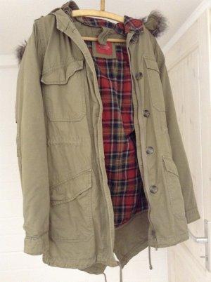 Edc Esprit Hooded Coat multicolored