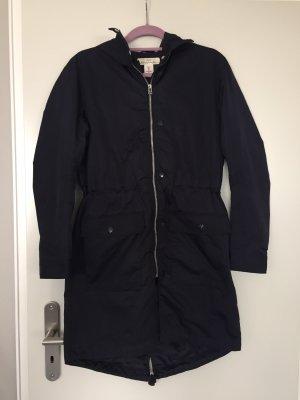 H&M Płaszcz przeciwdeszczowy ciemnoniebieski