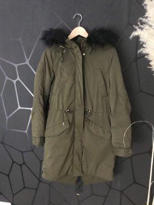 H&M Oversized Jacket khaki