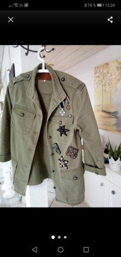 Only Oversized Jacket khaki