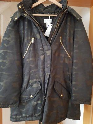rick cardona Military Jacket black-olive green