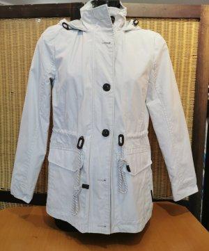 Tom Tailor Kurtka przejściowa w kolorze białej wełny-jasnobeżowy