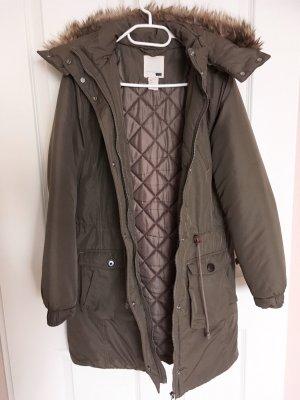 Parka/Winterjacke von Levi's, Größe M, Braun-Khaki