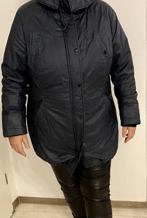 Bexleys Hooded Coat dark blue