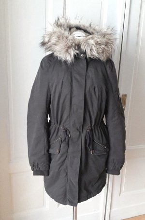 H&M Parka multicolored mixture fibre