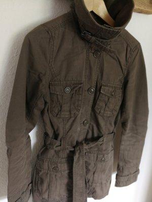 Parker Mantel Jacke H&M khaki Gr. 36