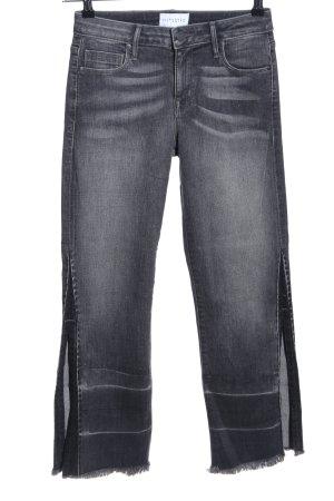 Parker Smith High Waist Jeans hellgrau Casual-Look