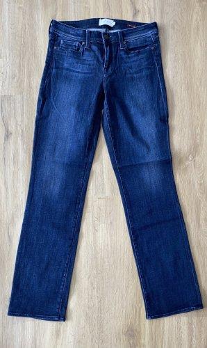 Parker Smith Jeans a zampa d'elefante blu scuro Cotone