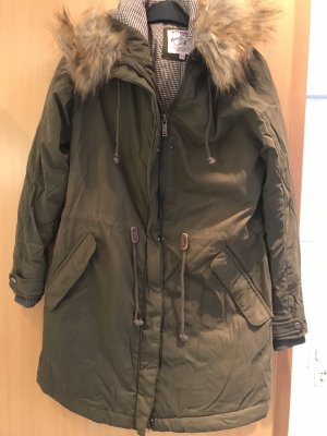 Strange Parka green grey