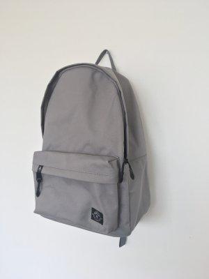 School Backpack light grey-grey