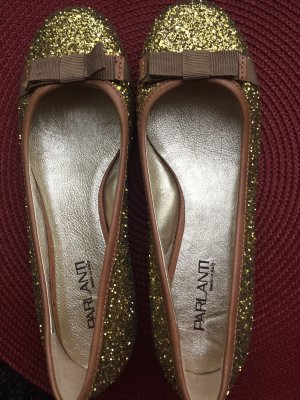 Parlanti Mary Jane Ballerinas gold-colored
