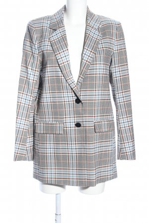 Part two Blazer Boyfriend estampado a cuadros look casual