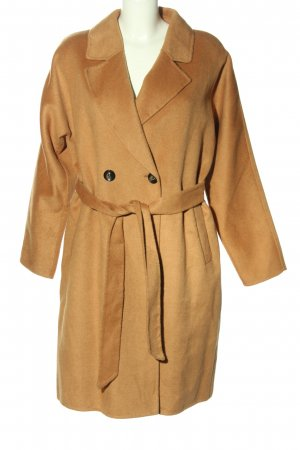 Part two Heavy Pea Coat brown casual look