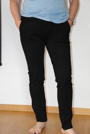Part two Pantalone elasticizzato nero Viscosa