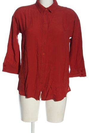Part two Camicia blusa rosso stile professionale
