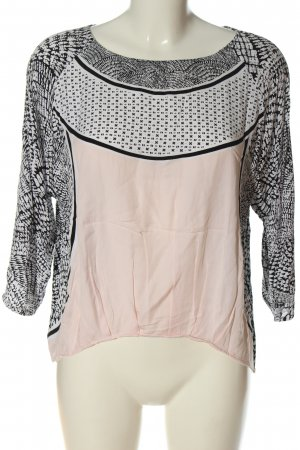 Part two Long Sleeve Blouse allover print casual look