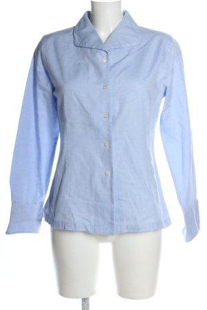 Part two Camicia a maniche lunghe blu stile casual