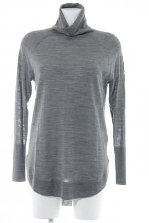 Part two Rollkragenpullover grau Casual-Look