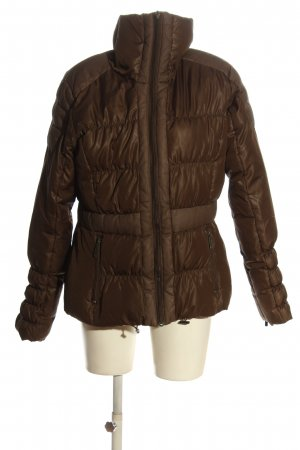 Part two Quilted Jacket brown quilting pattern casual look