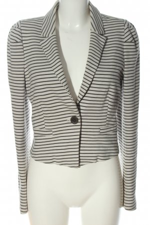 Part two Knitted Blazer white-black allover print casual look