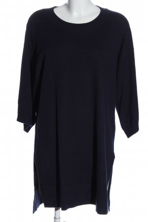 Part two Knitted Dress blue casual look