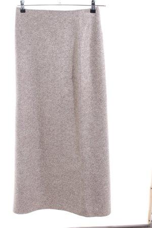 Part two Gonna di lana crema puntinato stile casual