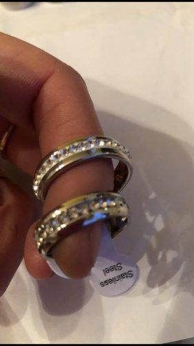 Anello di fidanzamento argento