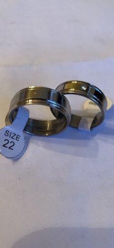 Pierścionek dla par srebrny