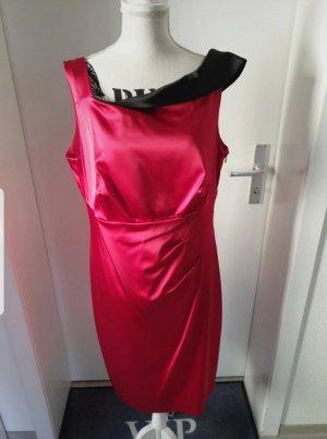 Apanage Midi-jurk zwart-rood